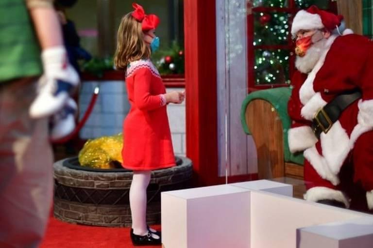Papai Noel é considerado 'trabalhador essencial' na Irlanda
