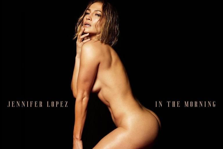 Jennifer Lopez posa nua para capa de single