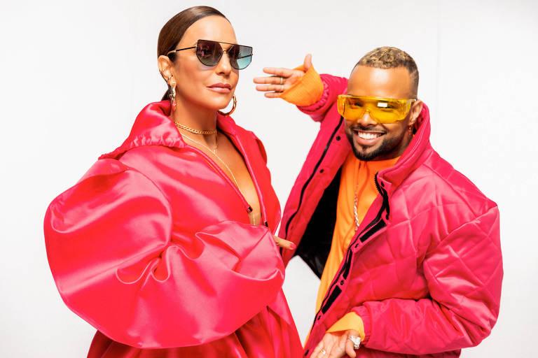 Ivete Sangalo fala de parceria com MC Zaac: 'Me sinto muito bem cantando com ele'
