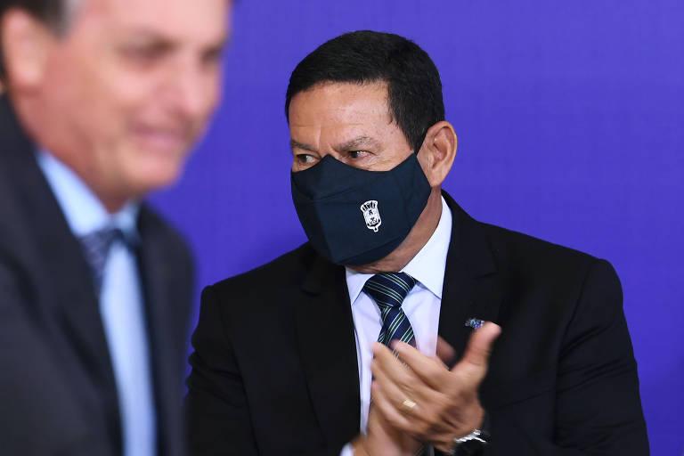 Mourão critica embaixada da China por usar redes sociais para rebater Eduardo Bolsonaro