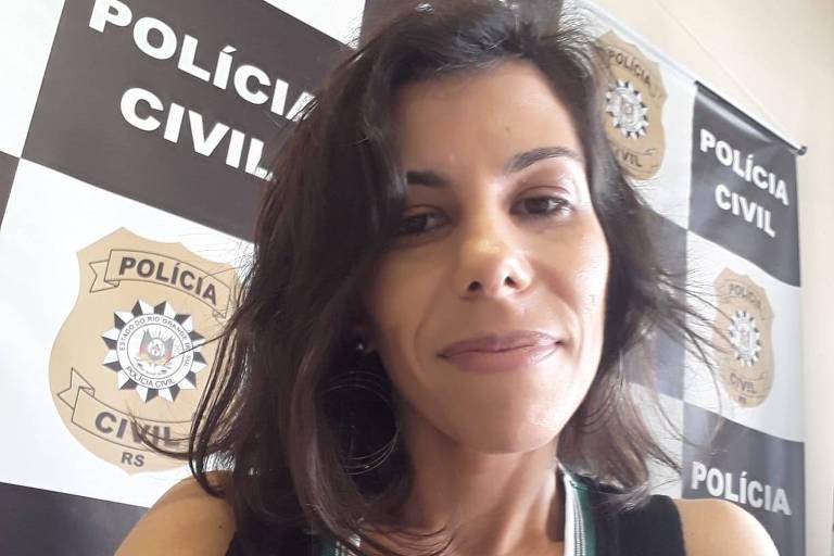 Delegada Roberta Bertoldo, da 2ª delegacia de Homicídios de Porto Alegre