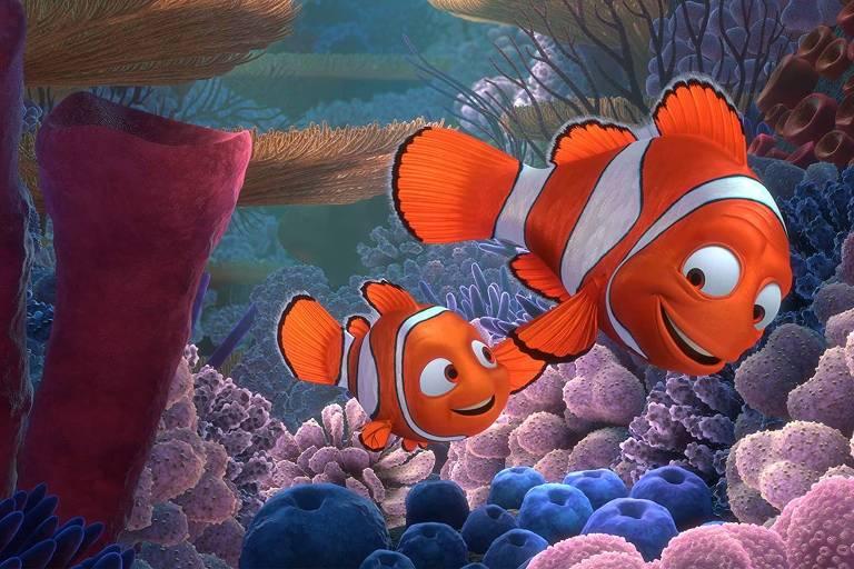 """Cena do filme """"Procurando Nemo"""""""