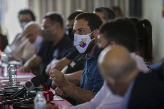 Boulos se encontra com servidores públicos no hotel Excelsior (SP)