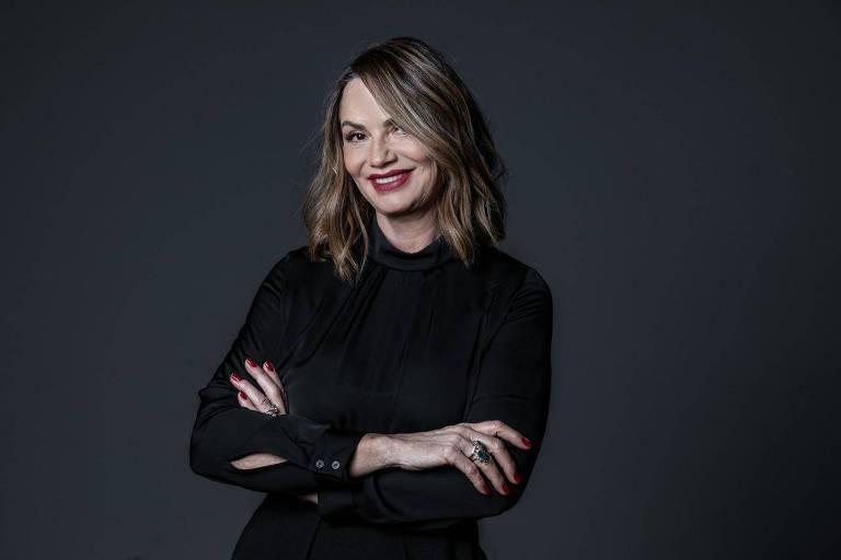 A ex-modelo e empresária Luiza Brunet
