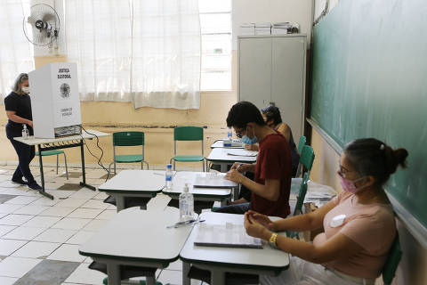Segundo turno de votação no centro de São Paulo é marcado pela rapidez