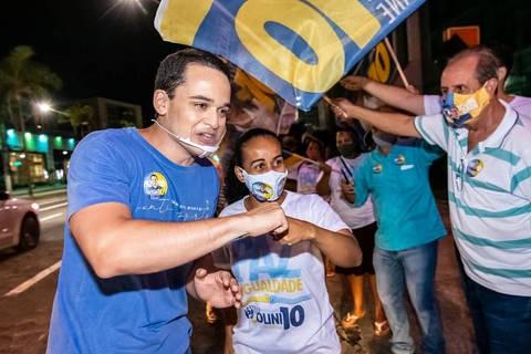 Delegado Pazolini derrota ex-prefeito e é eleito em Vitória (ES), projeta Datafolha