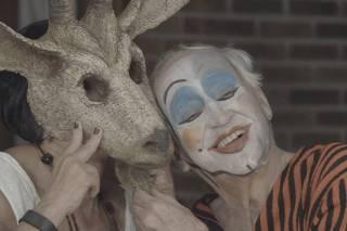 Zé Celso em cena do documentário