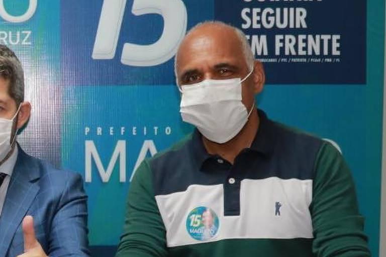 O vice-prefeito eleito Rogério Cruz