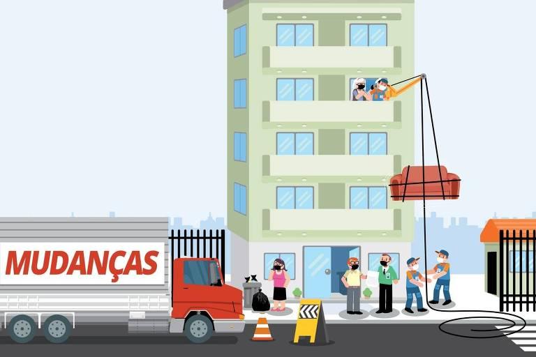 Ilustração para a coluna Nos prédios
