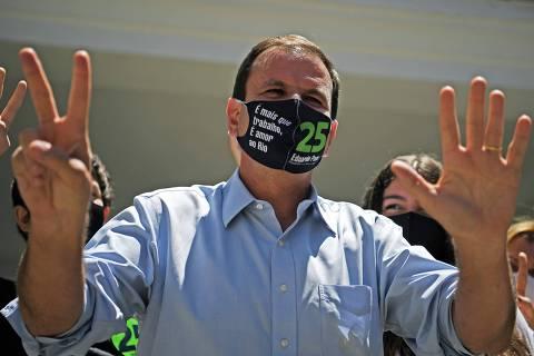 Filhos de Bolsonaro serão principais pontes de Eduardo Paes com presidente