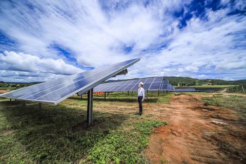 Usina Solar em Porteirinha (MG) da EDP em parceria com o Banco do Brasil