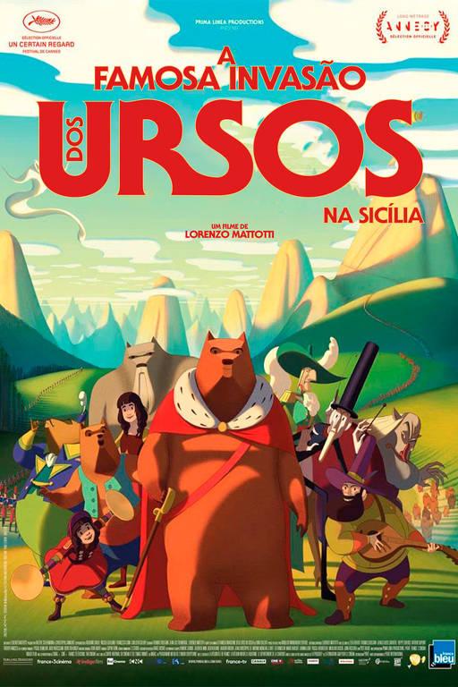 Cenas do filme 'A Famosa Invasão dos Ursos na Sicília'