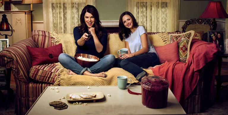 Cenas da série Gilmore Girls: Um Ano para Recordar