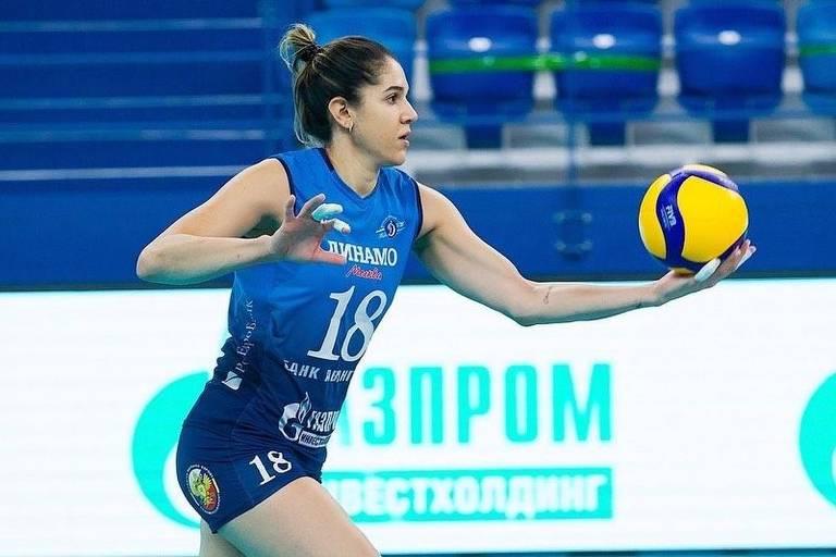 Natália critica calendário do vôlei e diz que corpo não aguenta tantos jogos