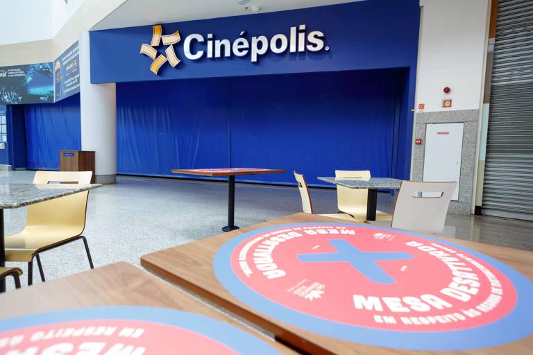 Cinema fechado em São Bernardo do Campo