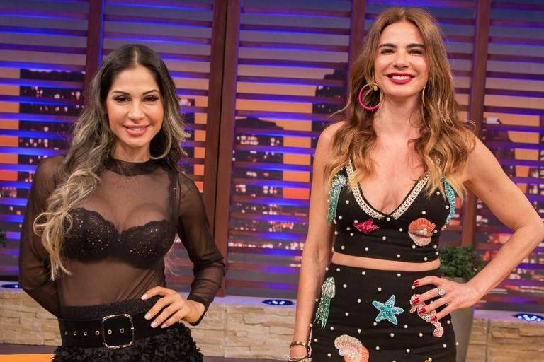 Luciana Gimenez entrevista Mayra Cardi