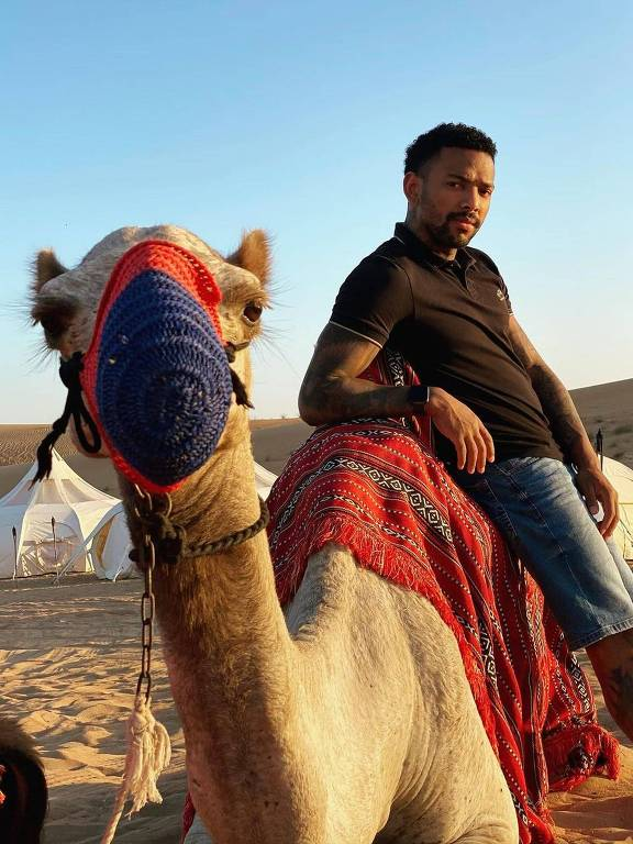 Nego do Borel em Dubai