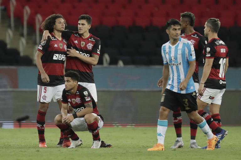 Racing vence Flamengo na Libertadores e vai às quartas
