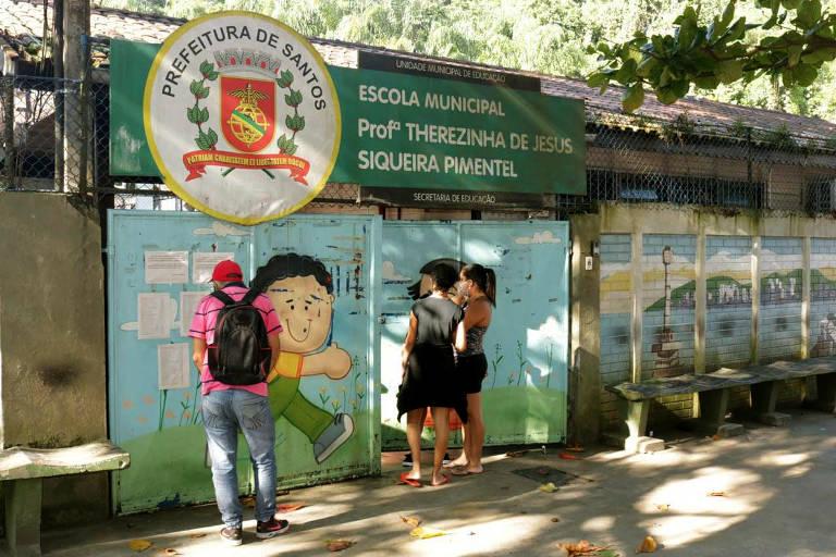 Ações de Enfrentamento a Covid - 19 - Alimentação Santos