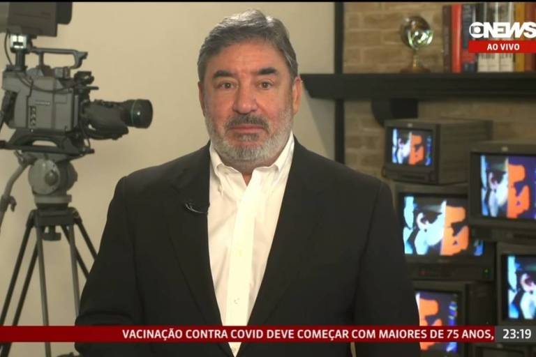Luís Fernando Silva Pinto se despede no ar