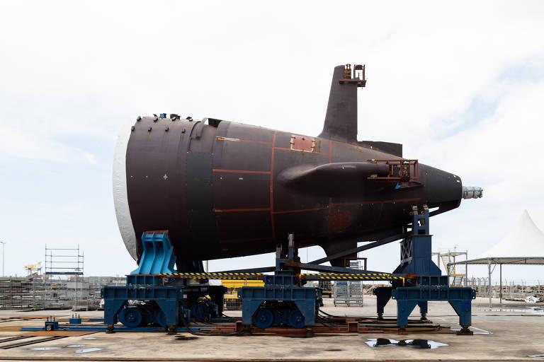 Projeto do submarino nuclear atrasa e estaleiro tenta evitar desmobilização