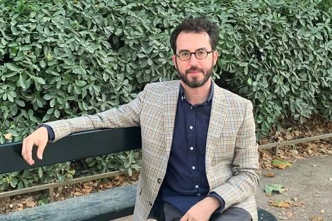 O escritor americano Jonathan Safran Foer, que lançou recentemente