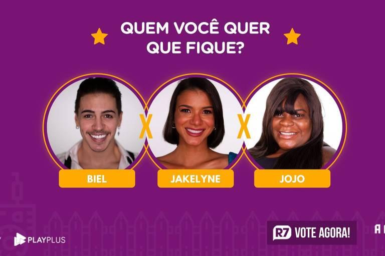 Biel, Jakelyne Oliveira e Jojo Todynho estão na roça