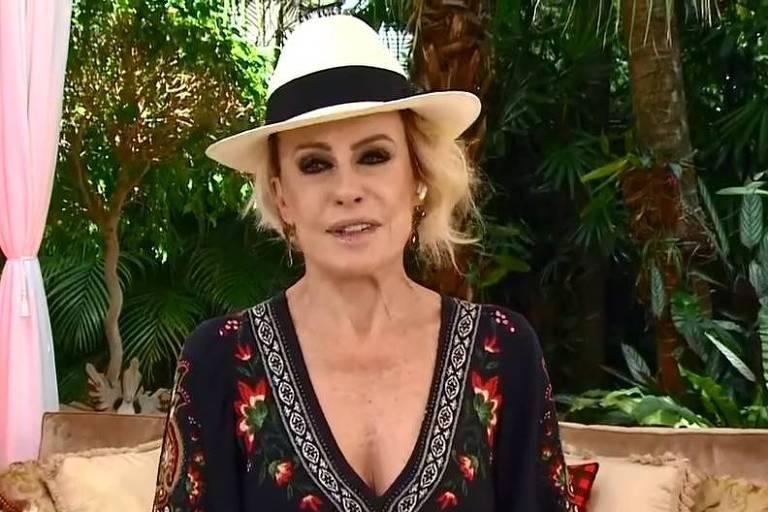 Ana Maria Braga encoraja Fátima Bernardes na luta contra o câncer