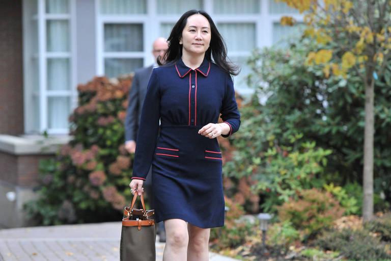 EUA discutem acordo com filha do fundador da Huawei, presa há dois anos no Canadá