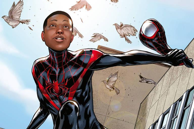 Criador do Homem-Aranha negro conta como reinventou os super-heróis da Marvel