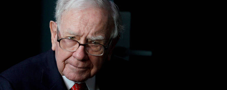 Bilionário e megainvestidor Warren Buffett