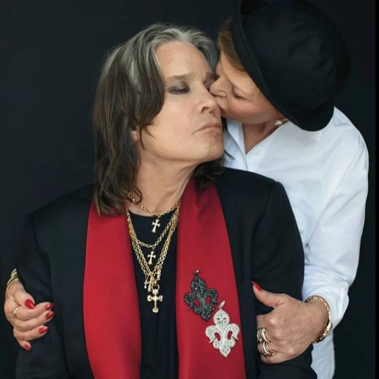 Sharon Osbourne e Ozzy Osbourne