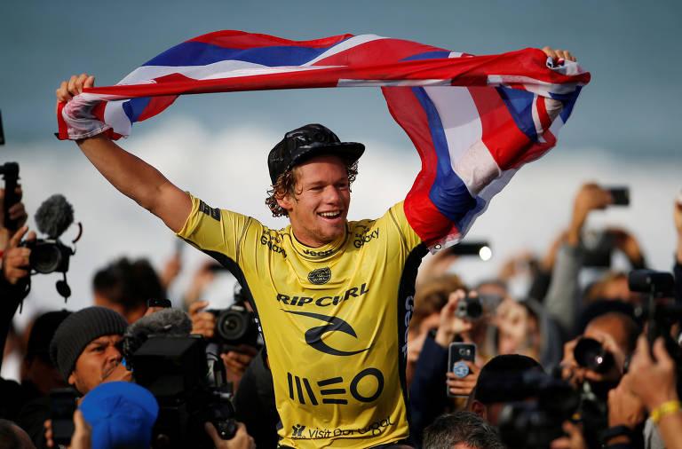 Defender EUA na Olimpíada gera tensão para surfista havaiano John John Florence
