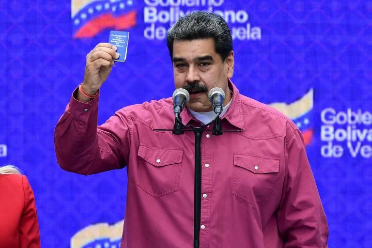 Eleição na Venezuela tem guerra de narrativas e baixa participação