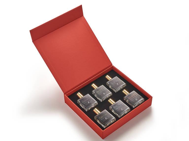 Caixas com 6 fragrâncias serão vendidas por e-commerces parceiros a partir de 07 de dezembro