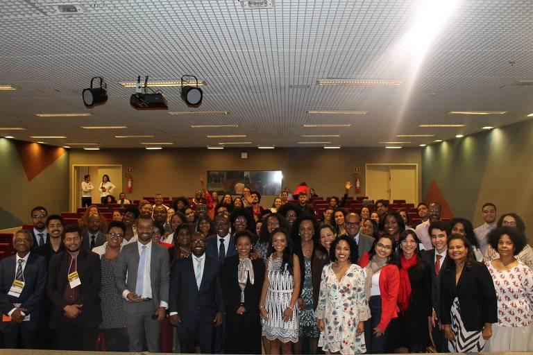 Encontro Nacional de Juízas e Juízes Negros, em Brasília, em 2018