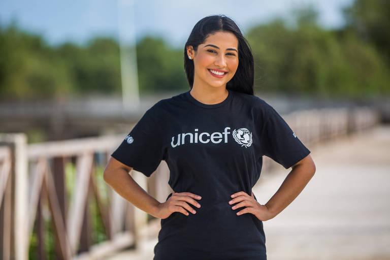 Thaynara OG é nova embaixador do Unicef