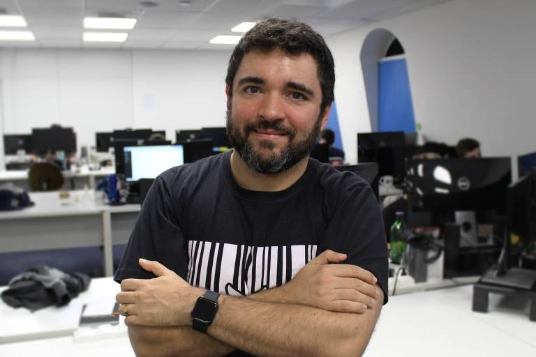 Piero Contezini, fundador da Asaas, fintech de Joinville