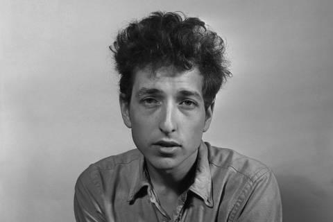Bob Dylan em Nova York em 1963 ORG XMIT: XNYT241