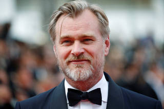 FILE PHOTO: Director Christopher Nolan poses at the 71st Cannes Film Festival