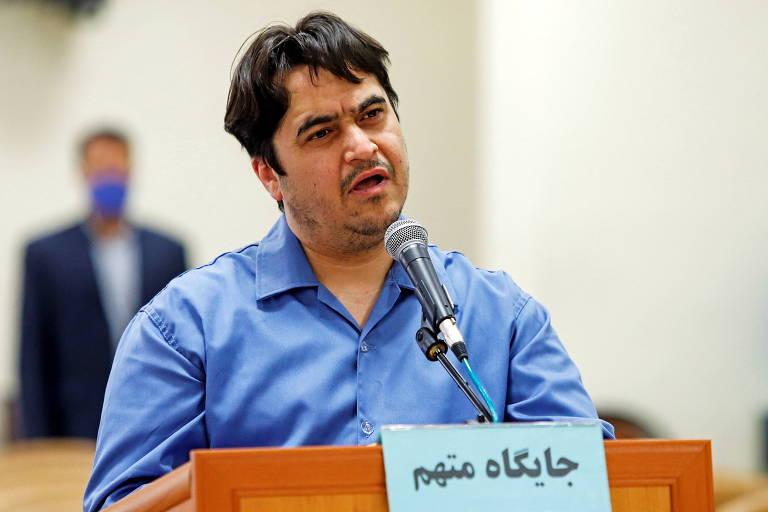 Irã mantém sentença de morte contra jornalista por protestos de 2017