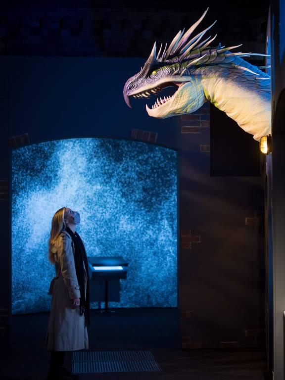 'Animais fantásticos' de J.K. Rowling ganham vida em museu de Londres