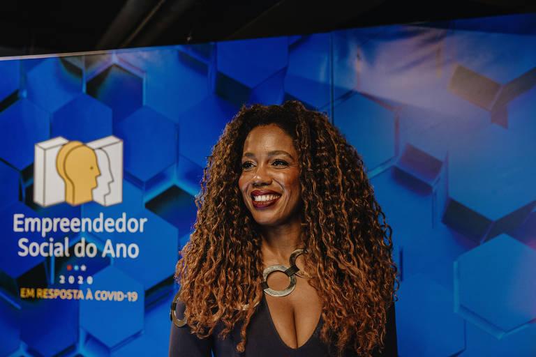 Zeca Camargo e Marial Gal foram mestres de cerimônias do Empreendedor Social do Ano