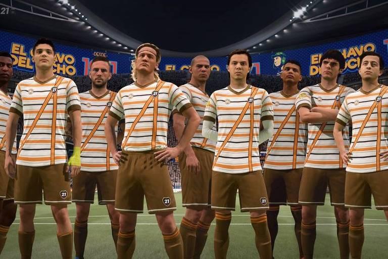 Jogo 'Fifa 21' faz homenagem a série 'Chaves'