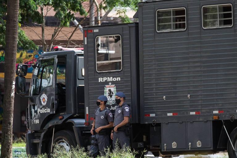 Em dois anos, polícia de SP apreendeu 3,6 toneladas de drogas na cracolândia