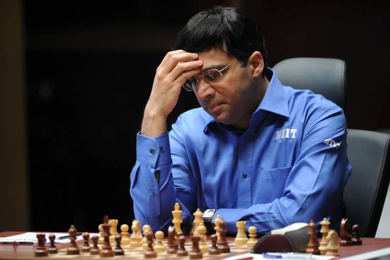O indiano Viswanathan Anand