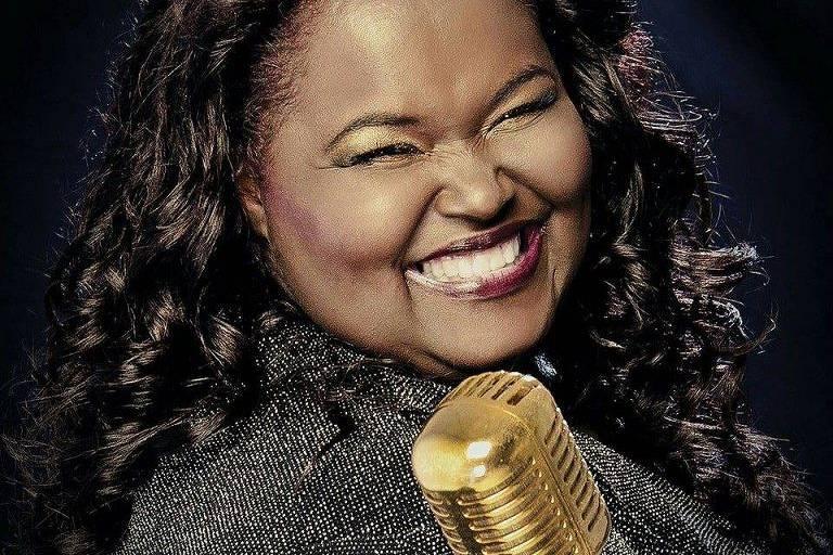 A cantora gospel Fabiana Anastácio, que faleceu na quarta-feira (4) em decorrência da Covid-19