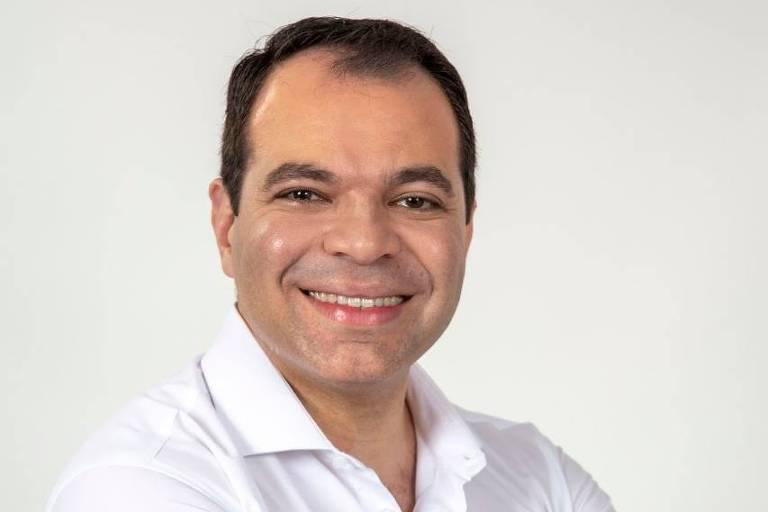 Milton Teixeira Filho, candidato à presidência do Santos