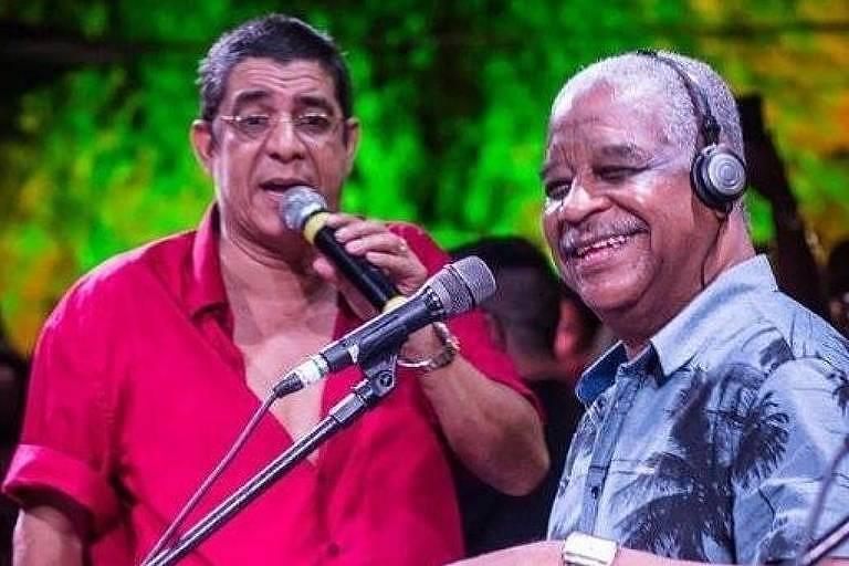 Cantor Zeca Pagodinho lamenta morte de Ubirany