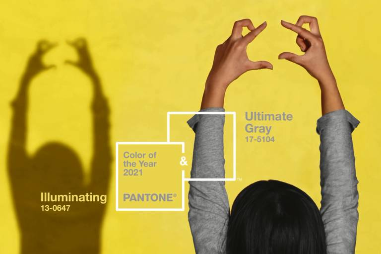 F5 - Estilo - Pantone escolhe 'amarelo caloroso' e 'cinza sólido' como tons  de 2021 - 11/12/2020